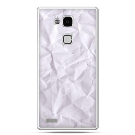 Etui na Huawei Mate 7 pomięty papier