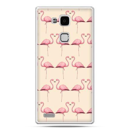 Etui na Huawei Mate 7 flamingi