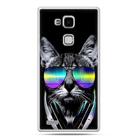Etui na Huawei Mate 7 kot hipster