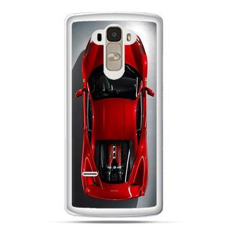 Etui na LG G4 Stylus czerwone Ferrari