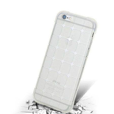 iPhone 6 CubeProtect przezroczyste etui silikonowe przezroczyste.