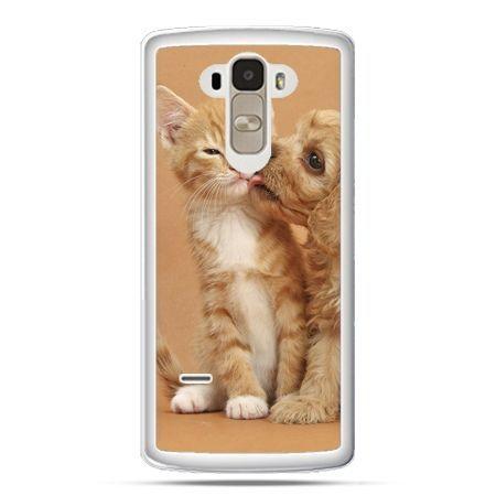 Etui na LG G4 Stylus jak pies i kot