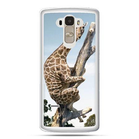 Etui na LG G4 Stylus śmieszna żyrafa