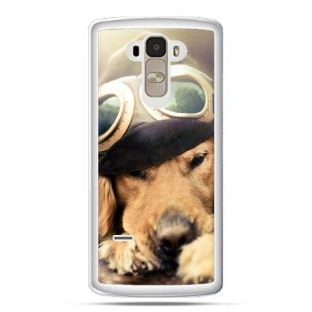 Etui na LG G4 Stylus pies w okularach