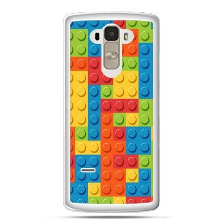 Etui na LG G4 Stylus kolorowe klocki
