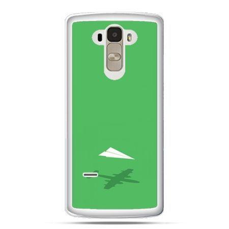 Etui na LG G4 Stylus samolot z papieru