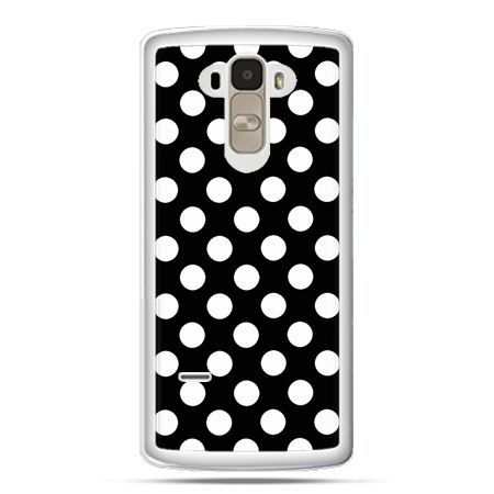 Etui na LG G4 Stylus Polka dot czarna