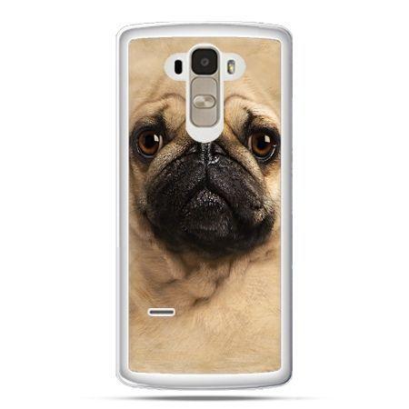 Etui na LG G4 Stylus pies szczeniak Face 3d