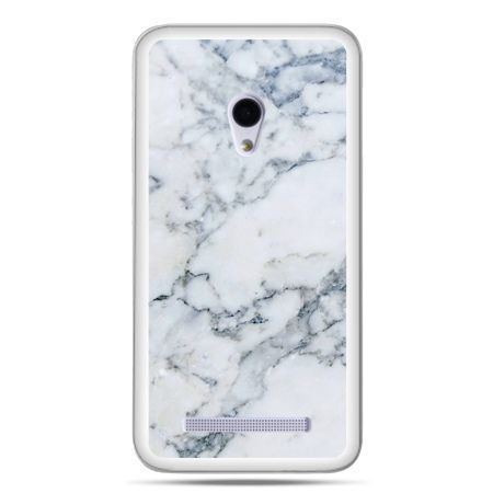 Zenfone 5 etui biały marmur