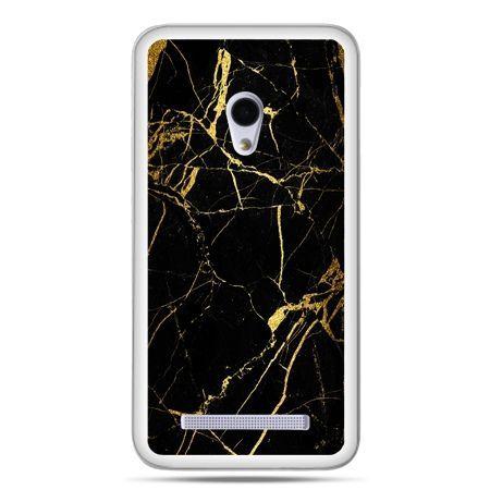 Zenfone 5 etui złoty marmur