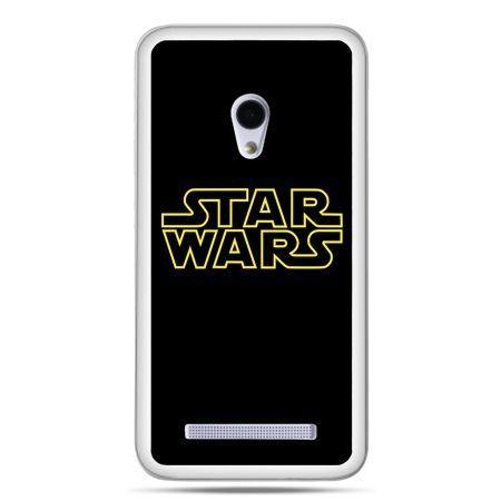 Zenfone 5 etui Star Wars złoty napis