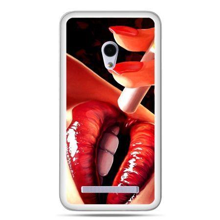 Zenfone 5 etui usta z papierosem