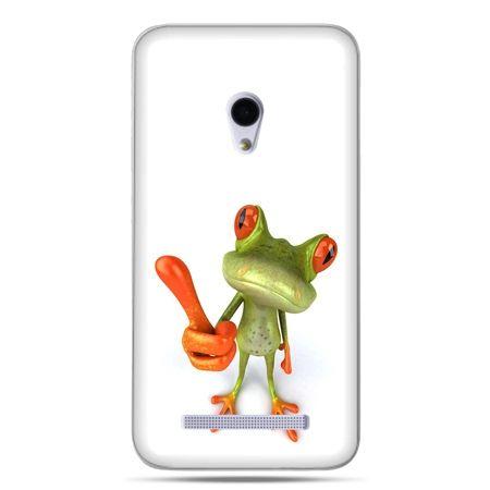 Zenfone 5 etui śmiesznaq żaba