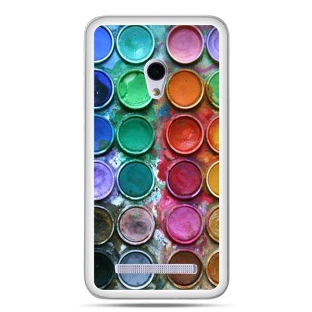 Zenfone 5 etui kolorowe farbki