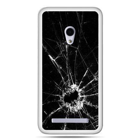 Zenfone 5 etui rozbita szyba