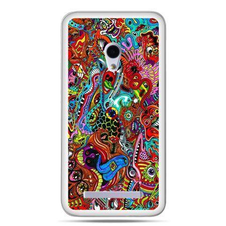 Zenfone 5 etui kolorowy chaos