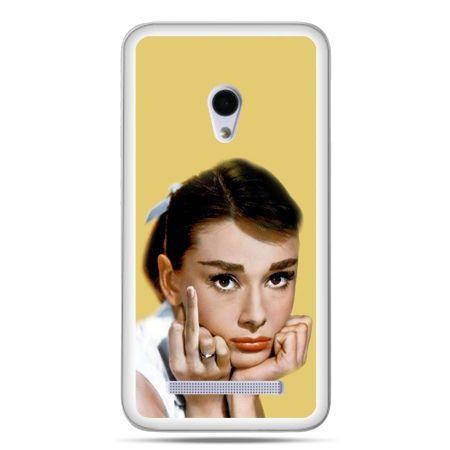 Zenfone 5 etui Audrey Hepburn Fuck You