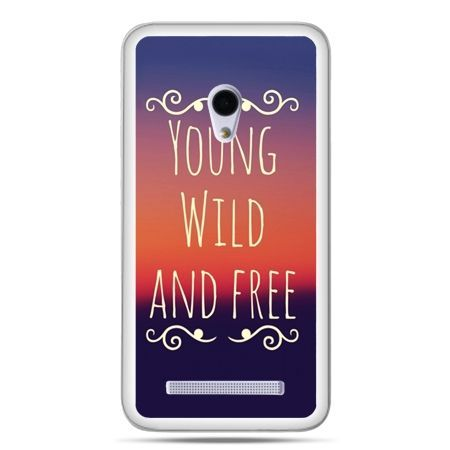 Zenfone 5 etui Young wild and free