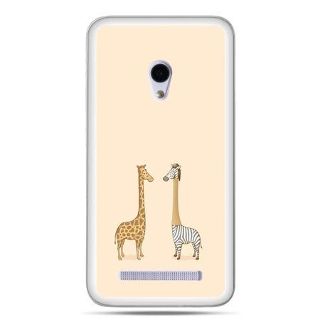 Zenfone 5 etui żyrafy