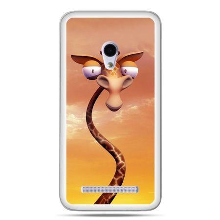 Zenfone 5 etui śmieszna żyrafa