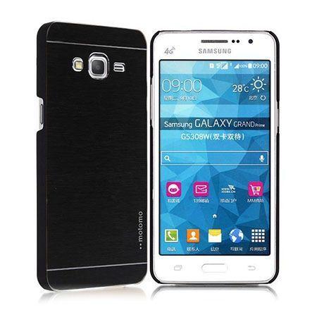 Samsung Galaxy A5 etui Motomo aluminiowe czarne.