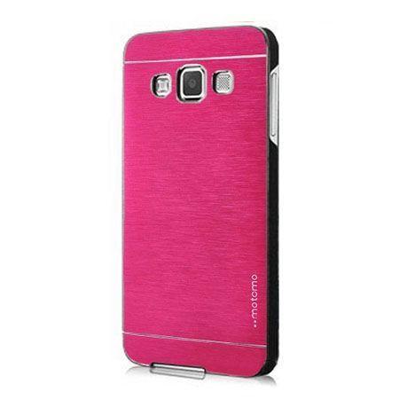 Galaxy Grand Prime etui Motomo aluminiowe różowe.