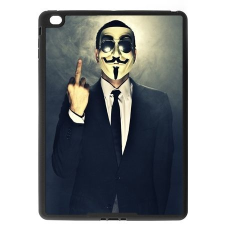 Etui na iPad Air case Anonimus fuck you