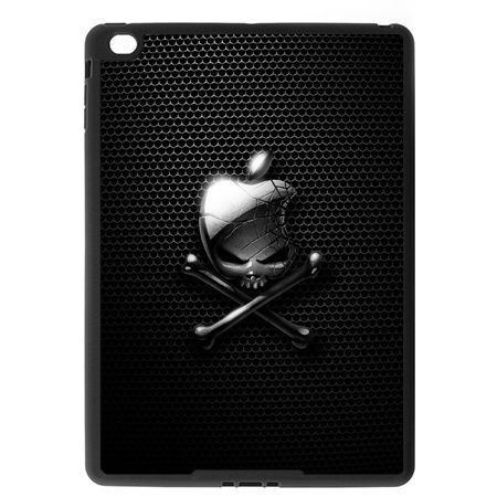 Etui na iPad Air case czaszka logo apple