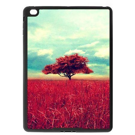 Etui na iPad Air case czerwone drzewo