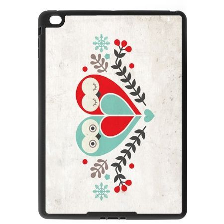 Etui na iPad Air case sowy wycinanka