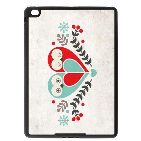 Etui na iPad Air case sowy wycinanka