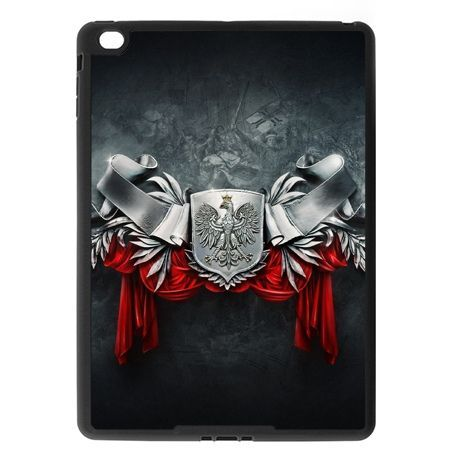 Etui na iPad Air case stalowe godło
