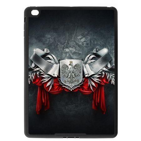 Etui na iPad Air case stalowe godło