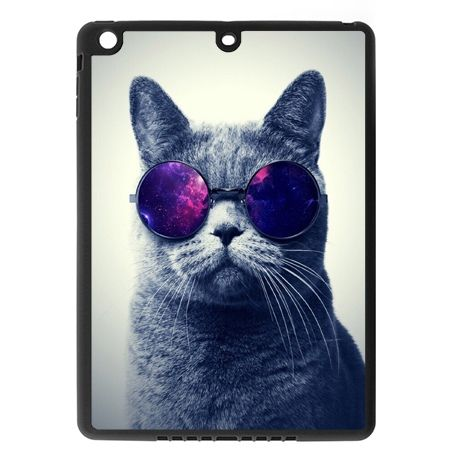 Etui na iPad mini case kot w okularach