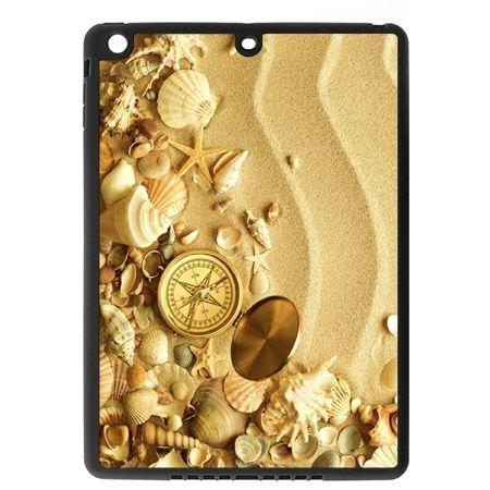 Etui na iPad mini case kompas na plaży