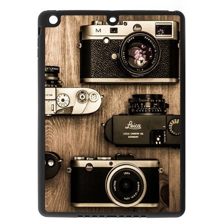 Etui na iPad mini case aparaty retro