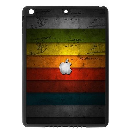 Etui na iPad mini 3 case kolorowe pasy z logo apple