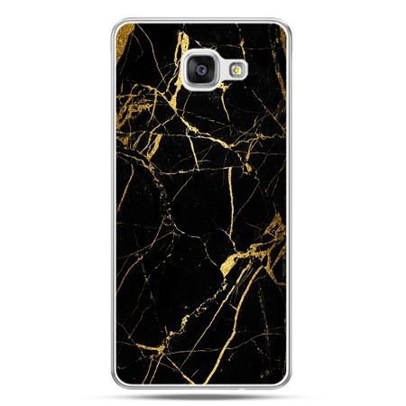 Galaxy A5 (2016) A510, etui na telefon złoty marmur