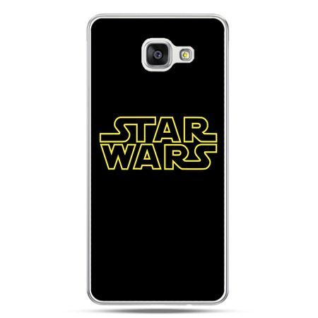 Galaxy A5 (2016) A510, etui na telefon Star Wars złoty napis