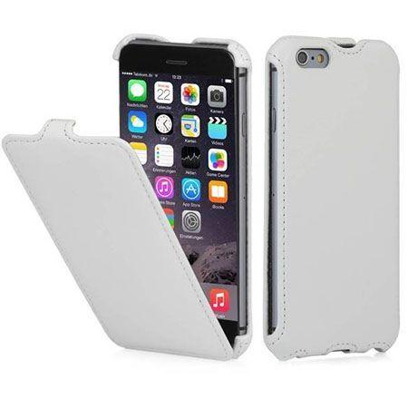 Stilgut iPhone 6, 6s etui z klapką SlimCase białe.