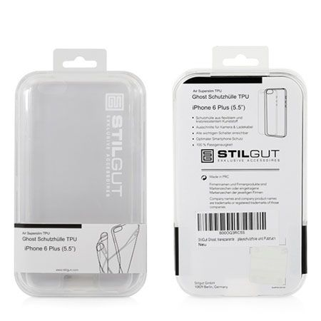 Stilgut iPhone 6, 6s etui silikonowe Ghost clear case.