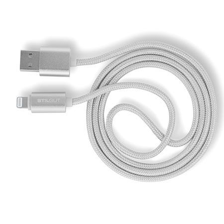 Stilgut kabel Magic Lightning dla iPhone oraz iPad srebrny.