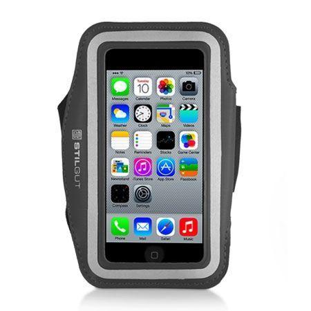 Stilgut iPhone 5 , 5s sportowe etui na ramię do biegania czarne.