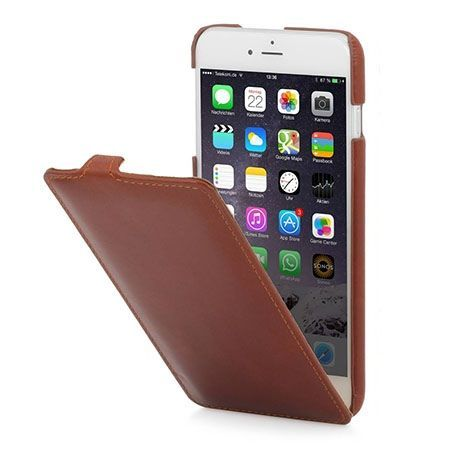 Stilgut iPhone 6 Plus Ultraslim skórzane etui brązowe.