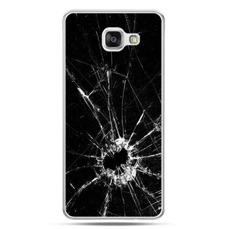 Galaxy A5 (2016) A510, etui na telefon rozbita szyba