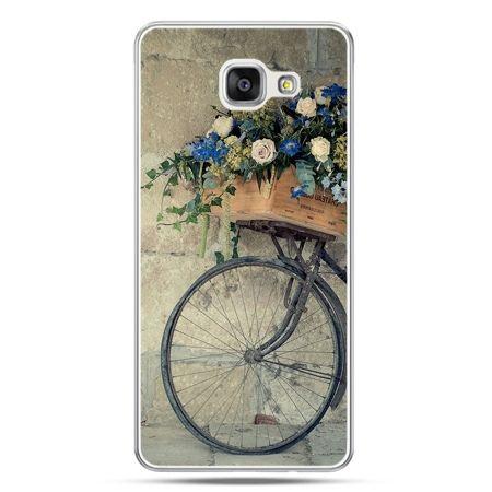 Galaxy A5 (2016) A510, etui na telefon rower z kwiatami