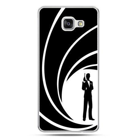 Galaxy A7 (2016) A710, etui na telefon James Bond
