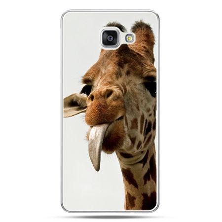 Galaxy A7 (2016) A710, etui na telefon żyrafa z językiem