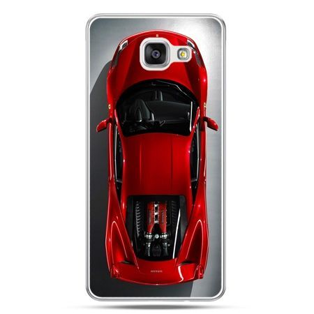 Galaxy A7 (2016) A710, etui na telefon czerwone Ferrari