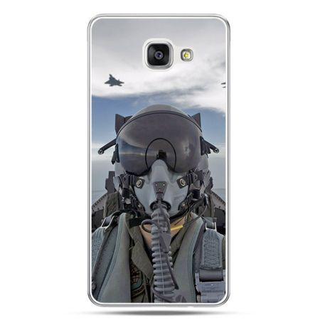 Galaxy A7 (2016) A710, etui na telefon pilot myśliwca